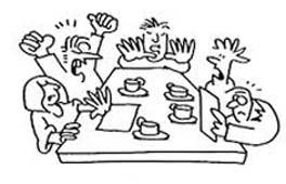 tekening aan tafel2